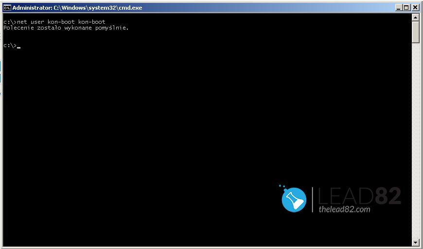Windows 7のネットユーザーがユーザーパスワードを変更する