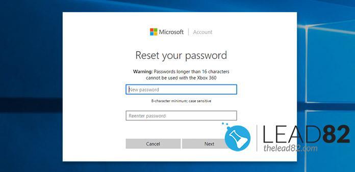 微软使用官方工具重置密码